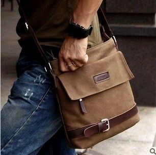 men casual shoulder bag messenger bag