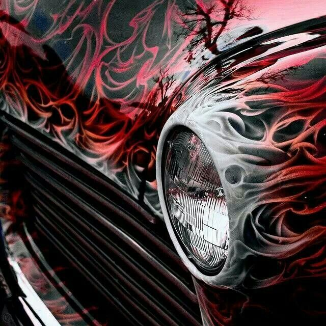 Best Motorcycle Paint Images On Pinterest Custom Bikes Custom - Custom vinyl decals for rc carsimages of cars painted with flames true fire flames on rc car