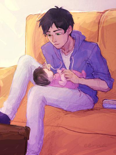 Percy and his little sister ♥♥♥♥ soooooo cuteee