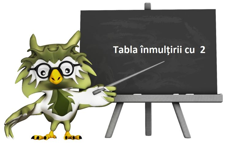 Tabla inmultirii cu 2 [Video]