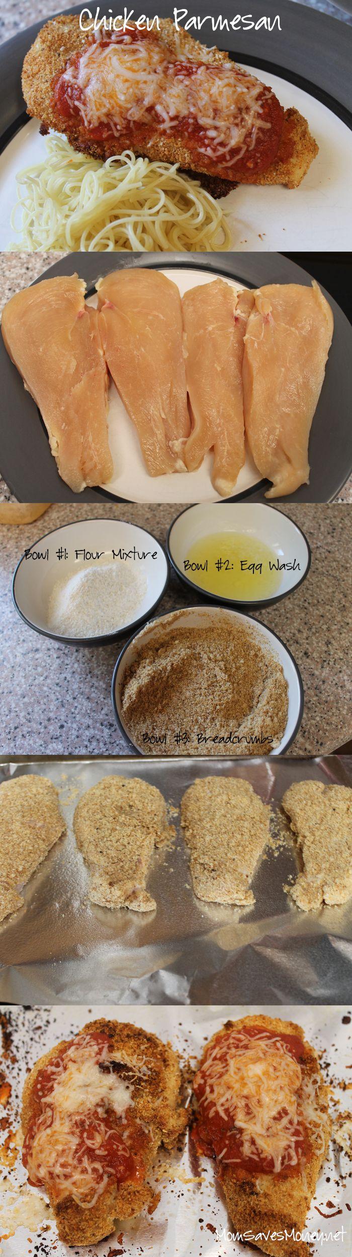 Recipe – Easy Chicken Parmesan! – Mom Saves Money