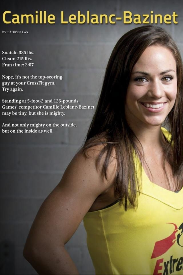 Camille Leblanc-Bazinet and Sam Briggs will go head to head in Open Workout 13.5 immediately following the live workout announcement. Then Rich Froning will take on Jason Khalipa.     That's right, it's CLB vs. Briggs, then Froning vs. Khalipa, all on the same day.    The event goes down at the Santa Cruz Civic Auditorium on Wednesday, April 3 at 5pm PT. If you can't make the venue, watch it live on the CrossFit Games site: http://games.crossfit.com/