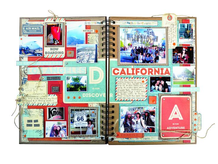 Travel Journal EM422 (inside) by Michelle Grant