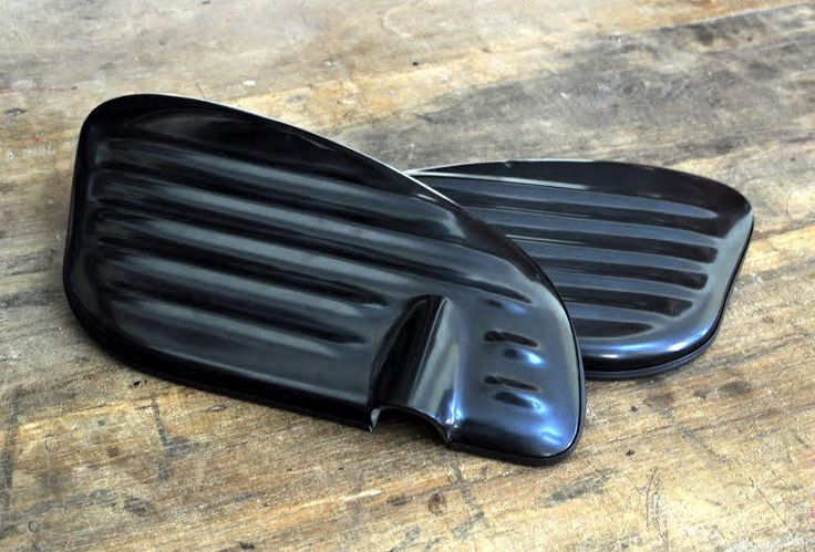 HONDA CUB Custom Ribbed Side Cover C50 C70 C90 for Street Cub OEM JAPAN