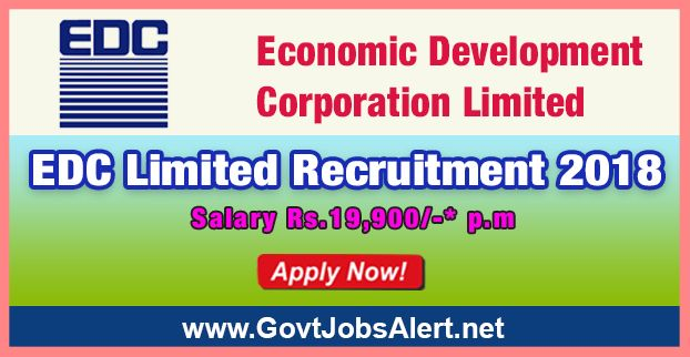 EDC Limited Recruitment 2018 - Hiring Attendant cum Driver Post, Salary Rs.19,900/- : Apply Now !!!  The Economic Development Corporation Limited - EDC Limited Recruitment 2018 has released an official employment notification inviting interested and eligible candidates to apply for the positions of Attendant cum Driver. The eligible candidates may apply to the posts in the prescribed format available in official website (given below).   #2018 #AttendantcumDriver #Economic