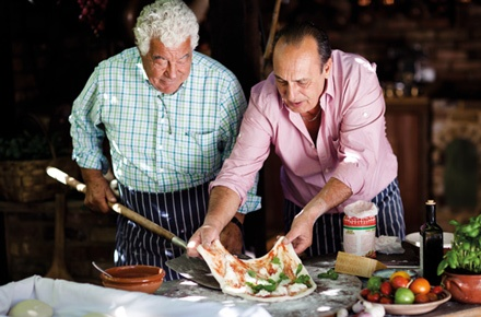 this show is amazing! 'two greedy italians' with antonio carluccio and gennaro contaldo travelling through italy and indulging...
