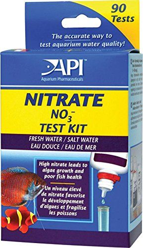 Effective for both fresh & saltwater aquariums. High levels of nitrate are a food source for unwanted algae & indicate poor water quality & health problems for fish. Tests nitrate levels from 0 to 160...