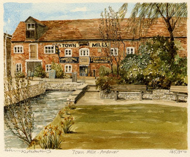 Andover - Town Mills - Portraits of Britain