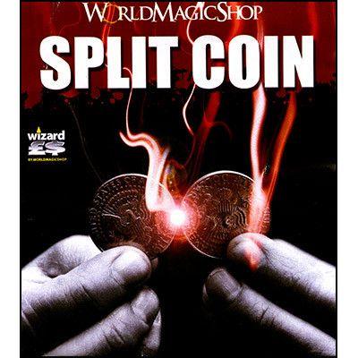 Split Coin (UK 10 Pence) - Trick
