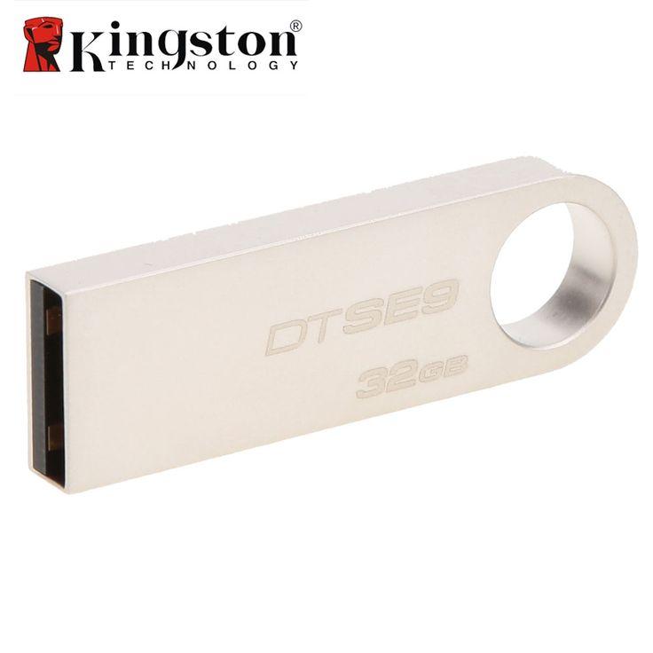 Kingston Mini Key DTSE9 Usb Flash Drive 2.0 8gb 16gb 32gb Memory USB Stick USB Pendrive Flash Stick Pen Drive 16 GB 32 GB 8 GB