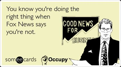 "Faux ""News"" = Noise and distraction for the weak minded sheeple and those who want to preserve their own self interests."