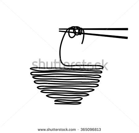 Noodle, asian food icon suitable for info graphics, websites and print media. Vector icon.