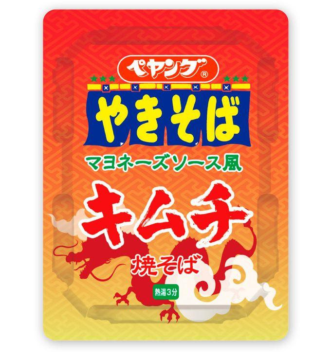 ペヤング マヨネーズソース風キムチ焼そば | まるか食品株式会社