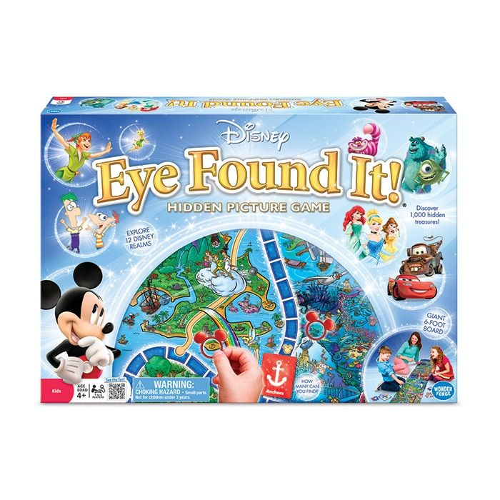 Wonder Forge Disney Eye Found It! Hidden Picture Game, Black