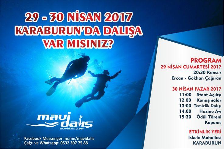 İzmir Karaburun Tüplü Dalış Aktivitesi.