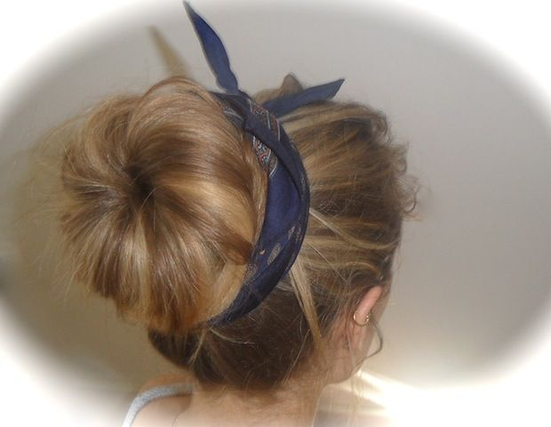 how to do a hair style best 25 bandana hairstyles ideas on bandana 5256