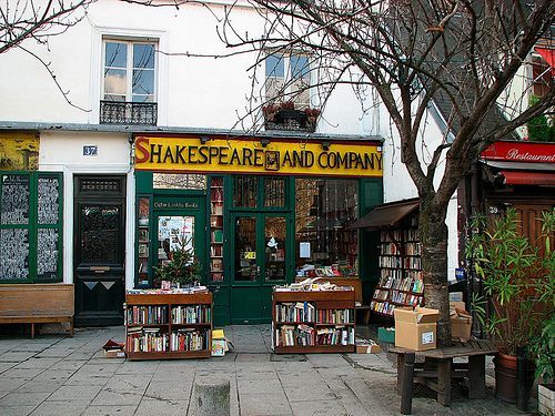 Shakespeare and Comapany Her Own Journey 9 Cosy Things to do in Paris in Winter