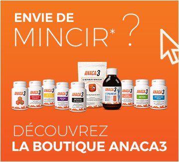 Accédez à la boutique en ligne Anaca3, spécialiste minceur