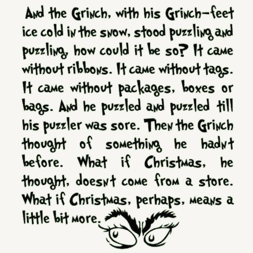 How the Grinch Stole Christmas - Favourite holiday movie!