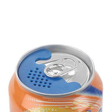 Bug Screens for your canned drinks...  Works when you are drinking sugary drinks in areas with bugs and bees. #outdoors #camping