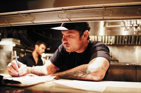 Chuck Hughes . . . I really want to eat at one of his restaurants the next time we're in Montreal.