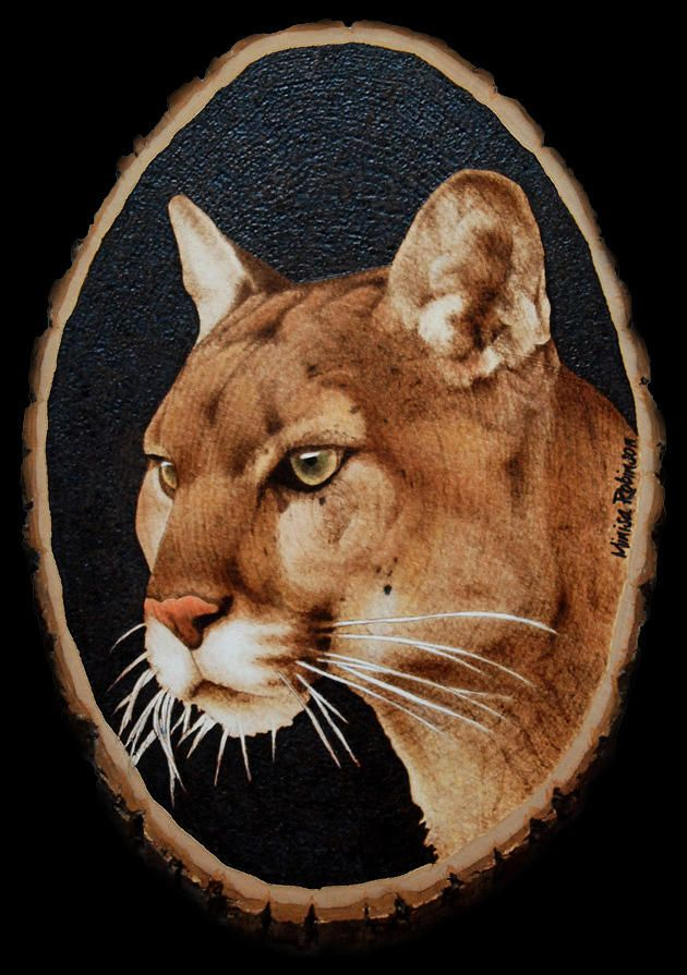 Minisa Custom Designs Pyrography Mountain Pride