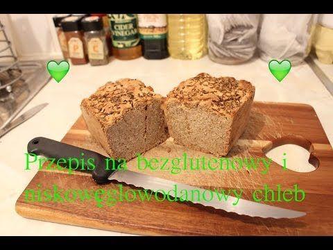 Mój przepis na bezglutenowy i niskoweglowodanowy chleb ! - YouTube