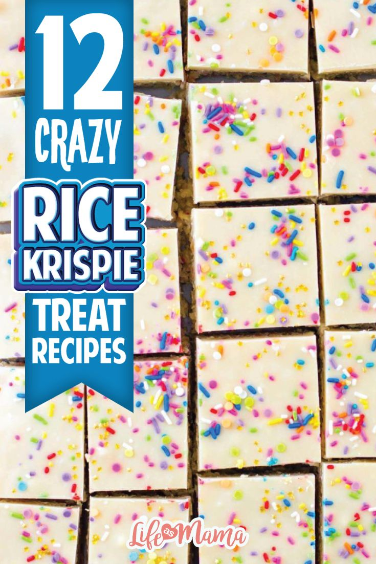 Usually, I'm pretty happy with the traditional cereal and marshmallow rice krispie treats, but lately my eyes have been opened