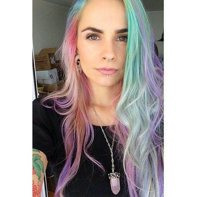 """""""Волосы цвета радуги идут только белокожим"""""""