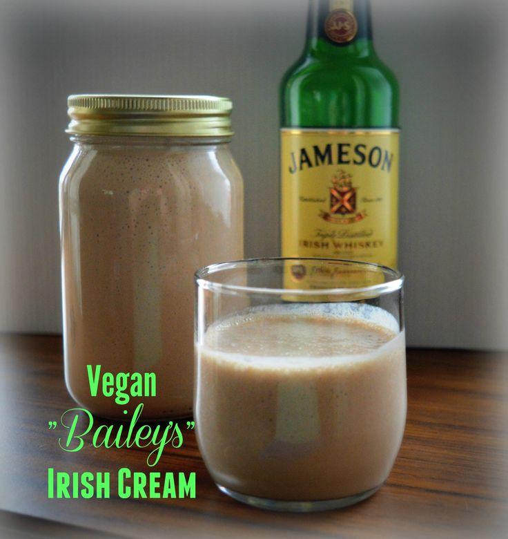 """Homemade Vegan """"Bailey's"""" Irish Cream"""