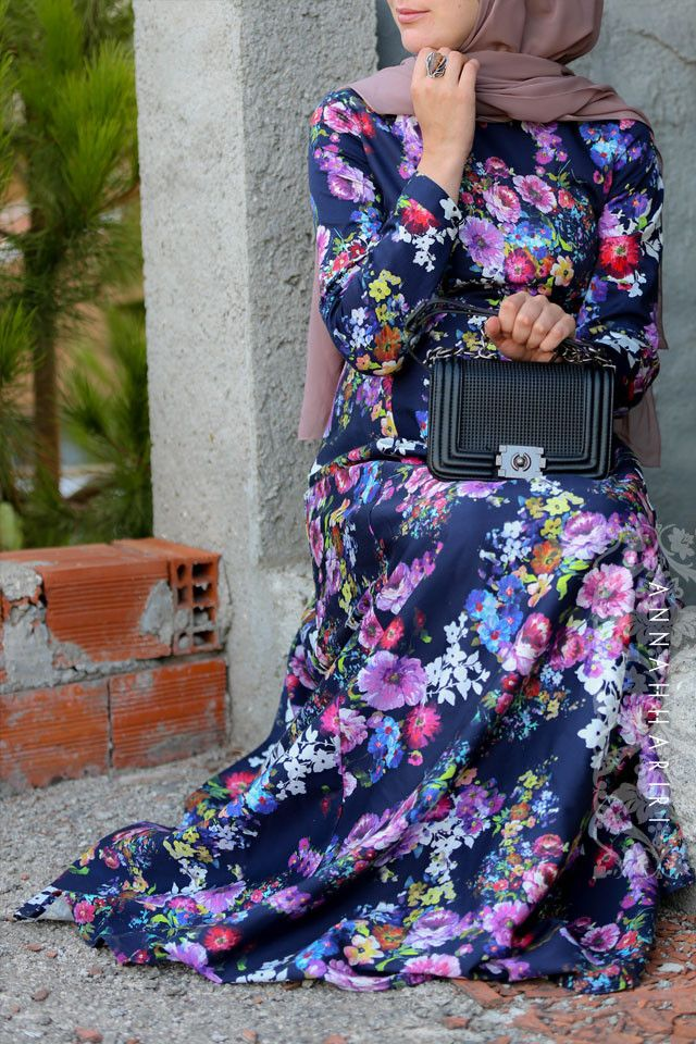 Batik Dress modest maxi dresses www.annahariri.com online store worldwide delivery