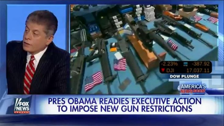 Judge Andrew Napolitano said that two executive orders on gun control by President Obama would violate the Constitution.