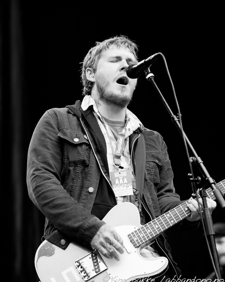 Brian Fallon, Gaslight Anthem, Norwegian Wood, Oslo