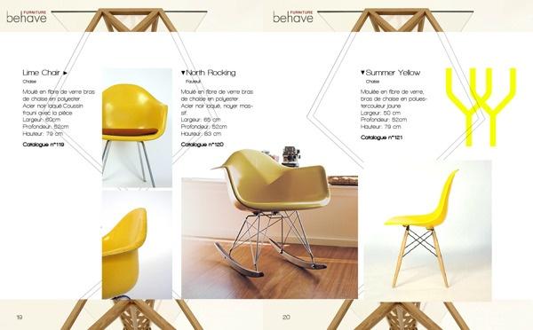 Layout - Design Catalog by Antoine Pilette, via Behance