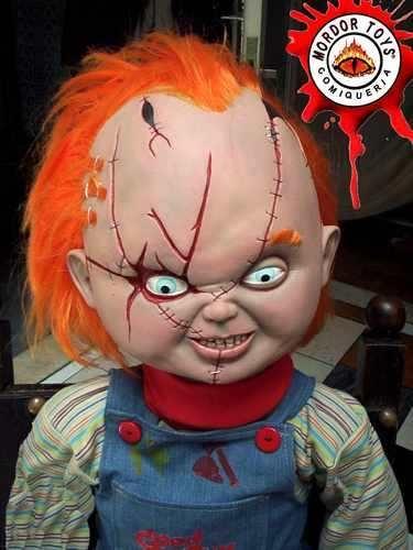 Melinterest Argentina. Chucky Muñeco Gigante! D 80cm Chuky El Muñeco Maldito Terror $800.