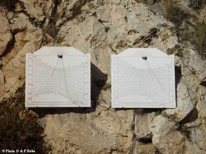 Cadrans solaires de temps universel  - Monaco