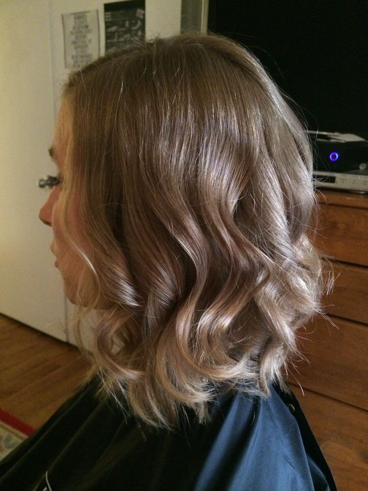 Using The Wand On Layered Hair Medium Layered Hairstyle