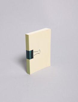 Bulldog Clip Notebook $12