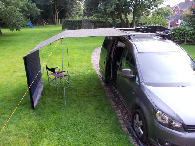 I'll need one of this: Thule Awning