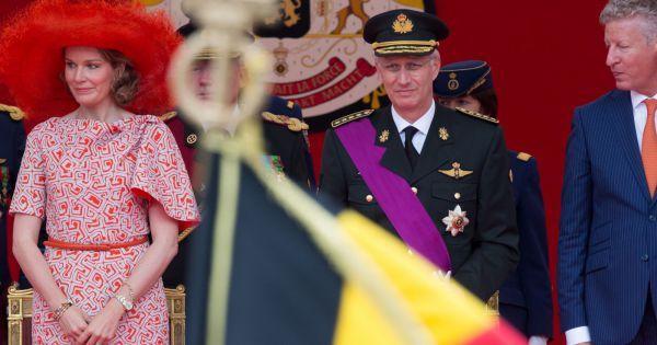 mathilde de belgique +21 JUILLET | Le roi Philippe de Belgique et la reine Mathilde de Belgique assistent ...