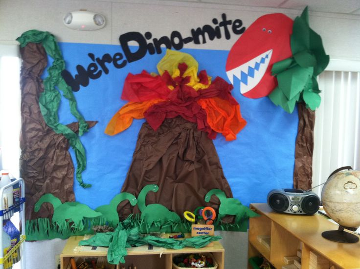 Dinosaur bulletin board                                                                                                                                                                                 More
