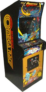 Omega Race - I could play this game for hours on end without losing. It was created by a company I worked at called arcade engineering, and I had one at home. It's really a great game. It uses vector hardware to display the game field. There are emulations of the game for MAME and other platforms.