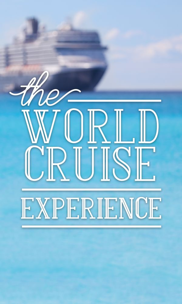 Winter is a great time to escape the bitter cold and travel to the exotic and warm tropical routes of a world cruise. If you have the time and zest for exploration, a world cruise just may be a new thrilling adventure for you! #worldtravel