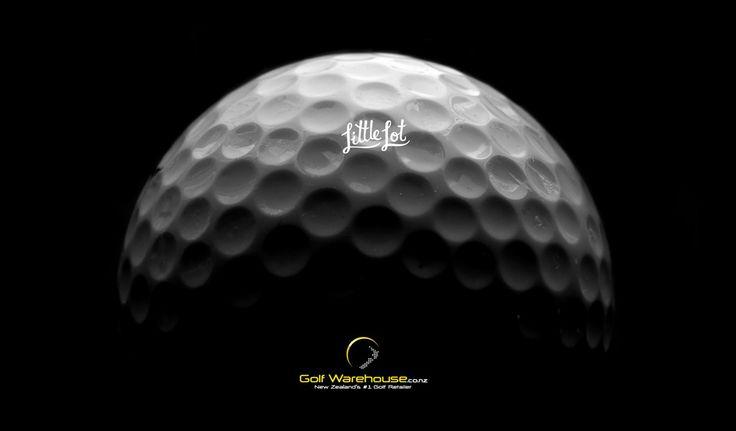 Little Lot | Golf ball close-up from Golf Warehouse