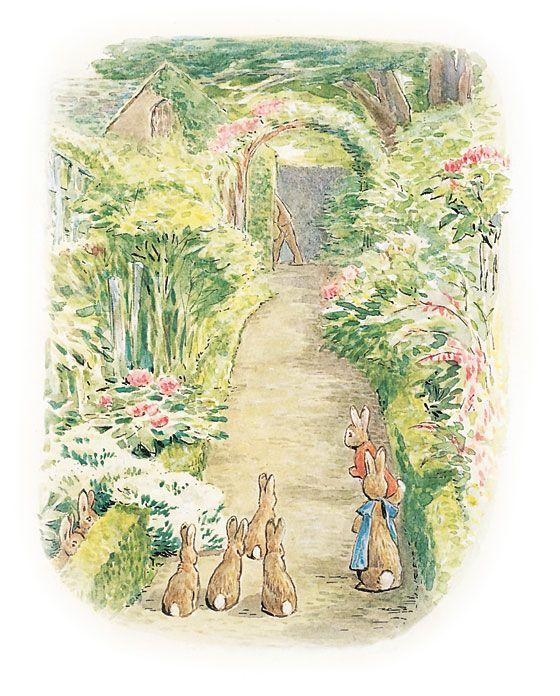 Peter Rabbit & Benjamin Bunny - Beatrix PotterBeatrix Potter Tales Of, Flopsi Bunnies, Art, Peter Rabbit, Favorite Illustration, Benjamin Bunnies, Bunnies Rabbit, Book Illustration, Beatrix Potter Illustration