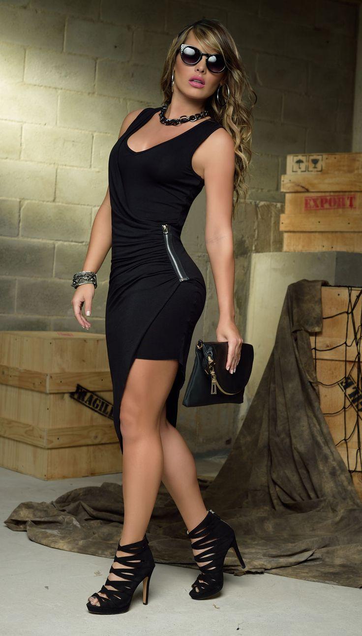 #CarmelModa #Vestido #Black #Tendencia