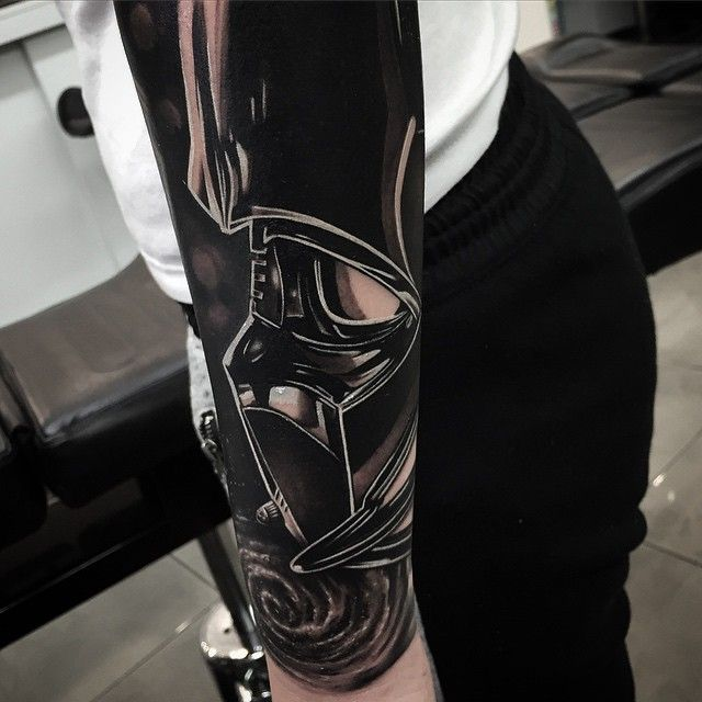 tattoo #darth #vader #starwars