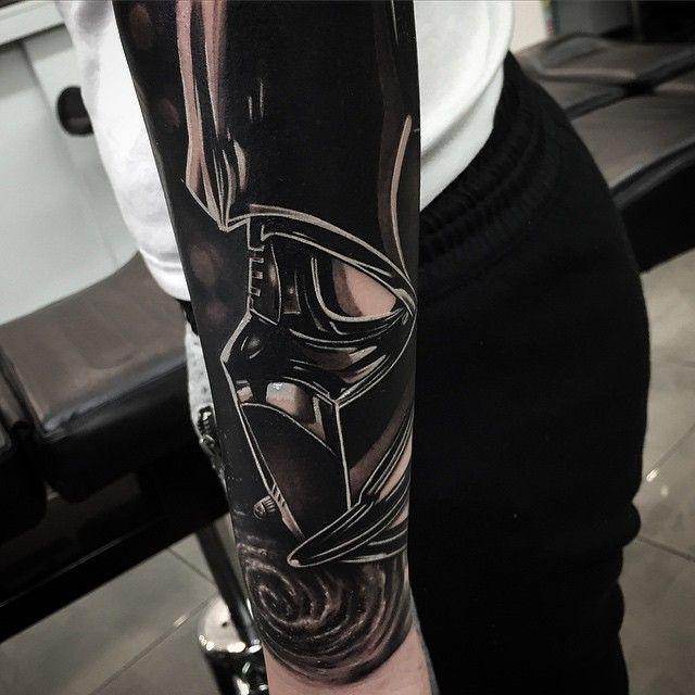 tattoo #darth #vader #starwars