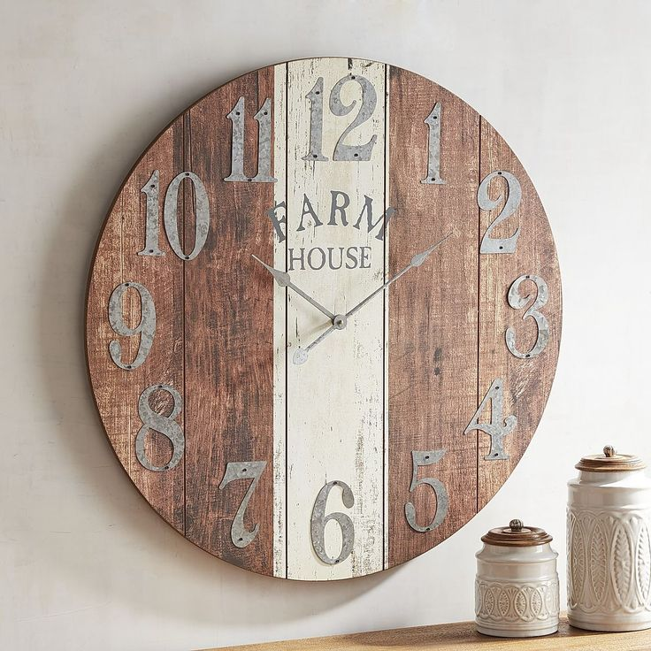 Farmhouse Wall Clock | Pier 1 Imports