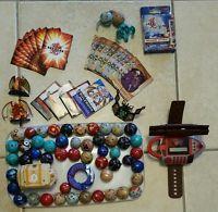 Lot Of 50 Bakugan Battle Brawlers , Cards , Bakugan Attack Card Game and More